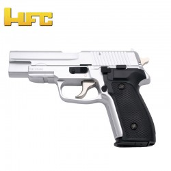 HFC Type Sig Sauer P226 Chrome - Heavy Spring Gun - 6 mm.