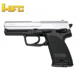 HFC Tipo H&K USP Bicolor - Pistola com mola pesada - 6 mm.