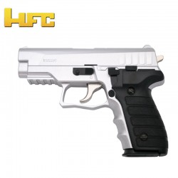 HFC Type Sig Sauer P227 Chrome - Heavy Spring Gun - 6 mm.