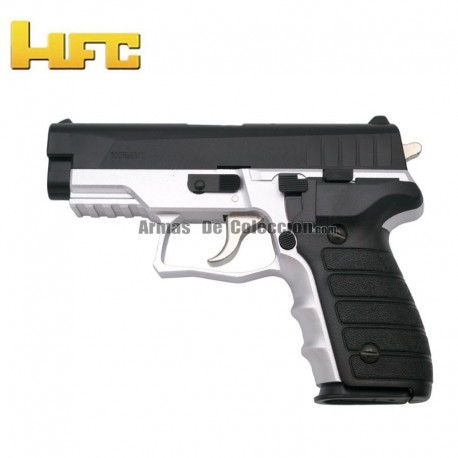 HFC Tipo Sig Sauer P227 Bicolor - Pistola Muelle Pesada - 6 mm.