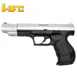 HFC Long Barrel Type Walther P99 Long Barrel - Bicolor - Heavy Spring Gun - 6 mm.