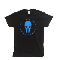 ADC T-shirt Black-Blue