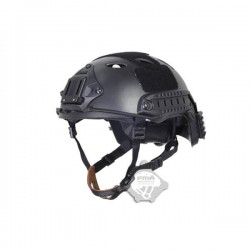 CAPACETE FMA FAST PJ BACK THREAD BLACK