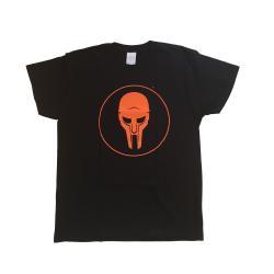 Camiseta ADC Preto-Laranja