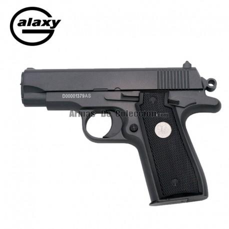 Galaxy G2 Negra - Pistola Muelle - 6 mm _ Aleación metal zinc