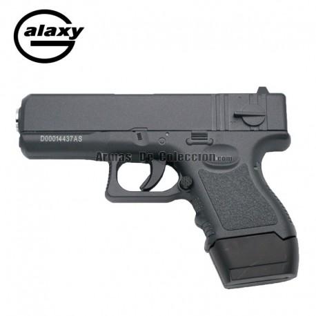 Galaxy G16 Negra - Pistola Muelle - 6 mm _ Aleación metal zinc
