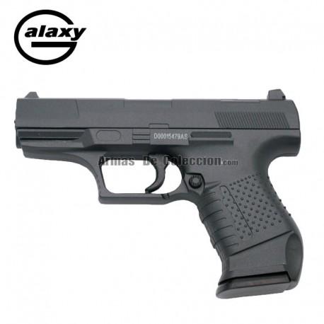 Galaxy G19 Negra - Pistola Muelle - 6 mm _ Aleación metal zinc