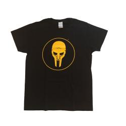ADC T-shirt Black-Yellow