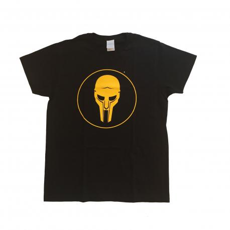 ADC T-shirt Black-Yellow