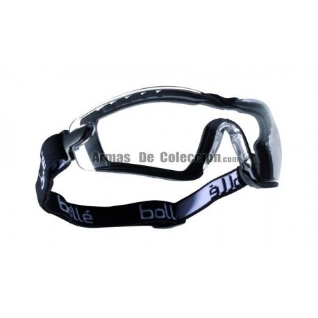 Gafa Bolle Cobra Negra Transparente