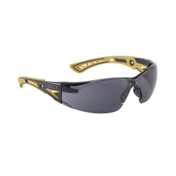 Óculos de proteção Bolle Rush costeletas escuras amarelo