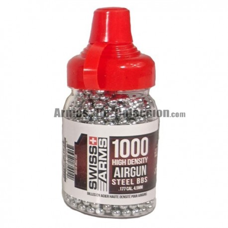 4.5 mm bolas acero Swiss Arms 1000 bbs