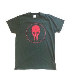 ADC T-shirt Green-Red