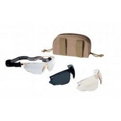Bolle Combat Tan com óculos intercambiáveis
