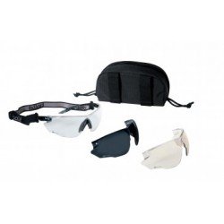 Bolle Combat Black com óculos intercambiáveis