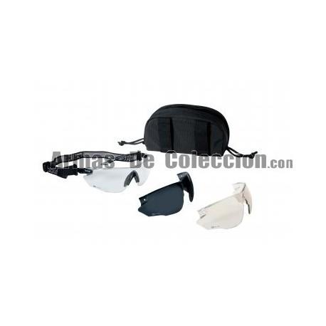 Gafa Bolle Combat Negro con intercambiables