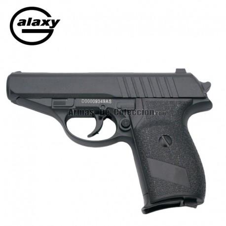 Galaxy G3 Negra - Pistola Muelle - 6 mm Aleación metal zinc