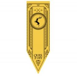 Juego de Tronos: Casa Baratheon. Estandarte 150 x 48 cm