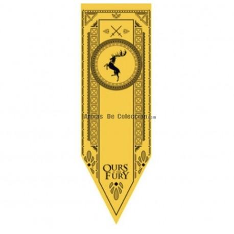 Juego de Tronos: estandarte de la Casa Baratheon