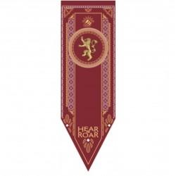 Juego de Tronos: Casa Lannister. Estandarte 150 x 48 cm