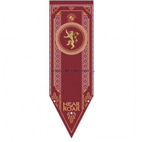 Juego de Tronos: estandarte de la Casa Lannister