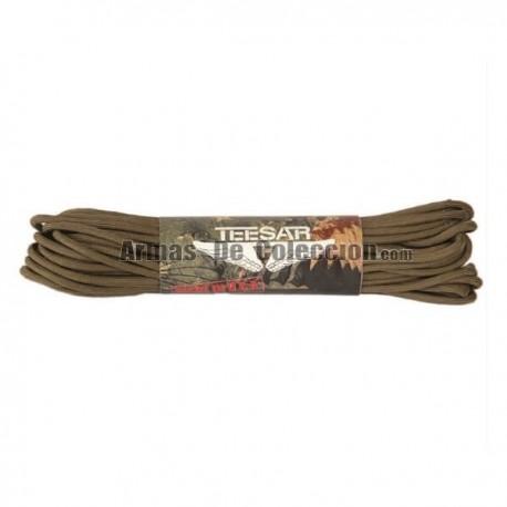 Cuerda Cordino Americano 550 15M Tan