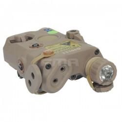 Lanterna a laser verde AN / PEQ-15 Tan