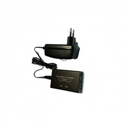 CARGADOR Bateria Lipo BALANCEADOR 7.4V-11.1V NEGRO