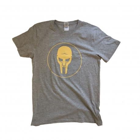 ADC T-shirt Grey-Yellow