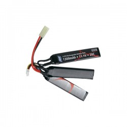 Li-Po Battery ASG 11.1 V 1300MAH 25C Black