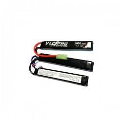 Batería VLC-PRO Li-Po 11.1V 2000mAH 15C Triple Negra