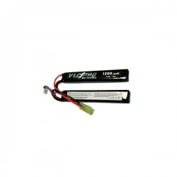 Battery VLC-PRO Li-Po 7.4V 1500mAH 15C Double Black