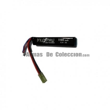 BATERIA VLC-PRO LIPO 11.1V 1100mah 15C NEGRA