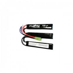 Batería VLC-PRO Li-Po 11.1V 1100mAH 15C Triple Negra