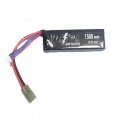 Batería VLC-PRO Li-Po 11.1V 1500mAH 20C Negra