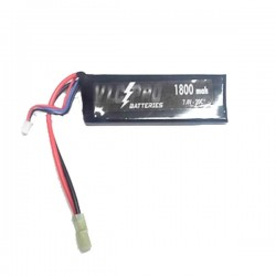 Batería VLC-PRO Li-Po 7.4V 1800mAH 20C Negra