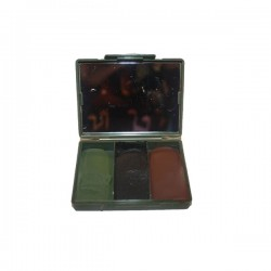 Bushcraft paint 40 GR. Box 3 Colors Black / Green / Brown
