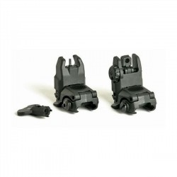 FMA PVC Gen 2 Black Folding Sight