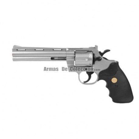 Revolver Rick Grimes The Walking Dead tipo Colt Phyton 357 - Muelle - 6 mm