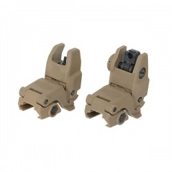 FMA PVC Gen 2 Tan Folding Sight