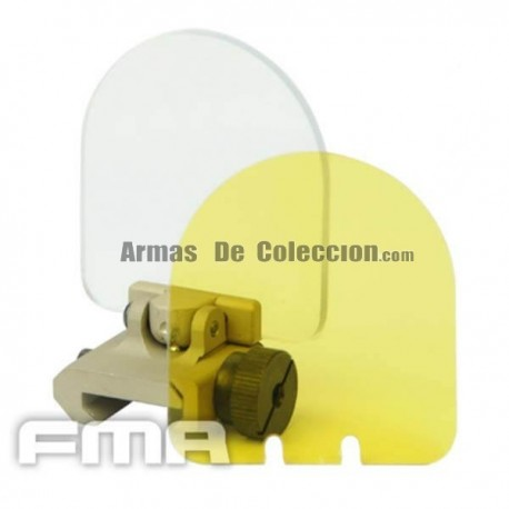PROTECTOR VISOR FMA TACTICAL TAN
