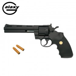 Revólver tipo Colt Phyton 357 - mola - 6mm