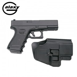 Galaxy G15 with Hard Case - FULL METAL - type Glock 19 - Spring Gun - 6 mm