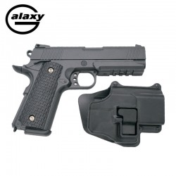 Galaxy G25 Con Funda Rígida - FULL METAL tipo Warrior - Pistola Muelle - 6 mm