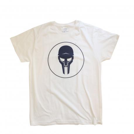 ADC T-shirt White-Navy