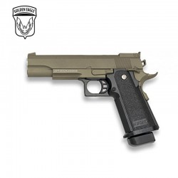 Golden Eagle Tipo Hi-Capa 5.1 - Negra - METAL - Pistola muelle - 6mm