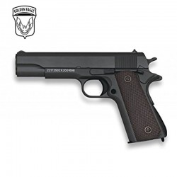 Golden Eagle Type Colt 1911 Preto - METAL - Pistola de mola - 6 mm