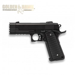Golden Hawk Type STRIKE WARRIOR - Preto - METAL - Pistola de mola - 6mm