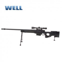 SNIPER WELL GAS G96330 CON MIRA BIPODE CULATA RETRACTIL