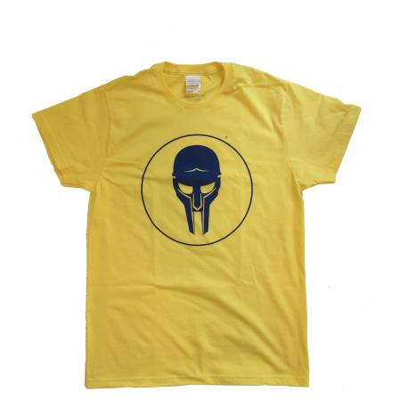 ADC T-shirt Yellow-Navy